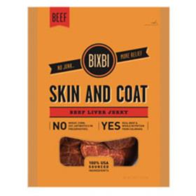 Bixbi Skin and Coat Beef Liver Treats