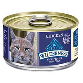 Blue Buffalo Wilderness Chicken Grain Free Feline