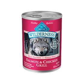 Blue Buffalo Wilderness Salmon and Chicken Grill Cans