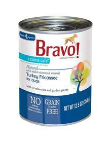 Bravo Dog Cans Turkey Fricassee