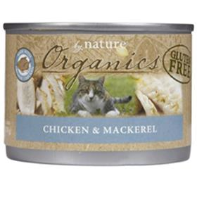 By Nature Organic Chicken and Mackerel Cat Cans