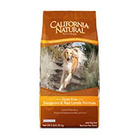 California Natural Grain Free Kangaroo and Red Lentils Dry Dog Food