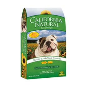 California Natural Low Fat Rice and Lamb Meal Adult Dry Dog Food