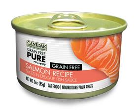 Canidae Grain Free PURE Recipes Adult Cat Wet Food Salmon Recipe
