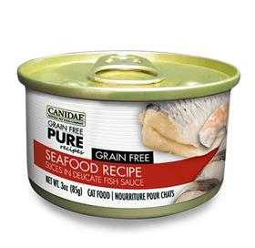Canidae Grain Free Pure Seafood Recipe Canned Cat Food