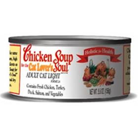 Chicken Soup Adult Cat Light Canned Food
