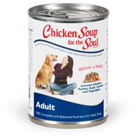 Chicken Soup Adult Dog Food Cans