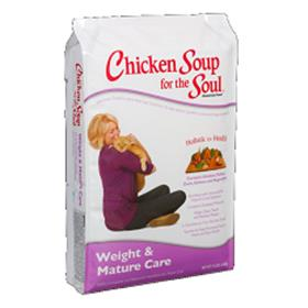 Chicken Soup Weight and Mature Care Dry Cat Food