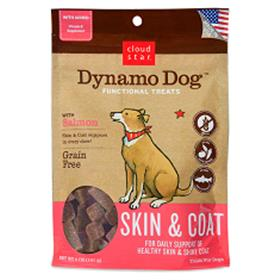 Cloud Star Dynamo Dog Skin and Coat Salmon
