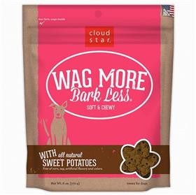 Cloud Star Wag More Bark Less Soft and Chewy Sweet Potato