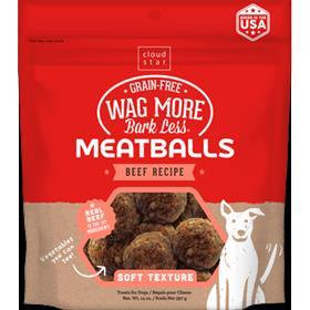 Cloudstar Wag More Bark Less Meatballs Beef Recipe