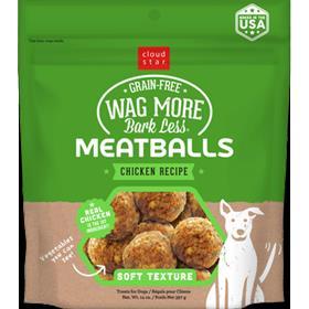 Cloudstar Wag More Bark Less Meatballs Chicken Recipe
