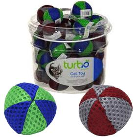 Coastal Turbo Beach Balls Cat Toy