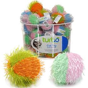 Coastal Turbo Fuzzy Balls Cat Toy