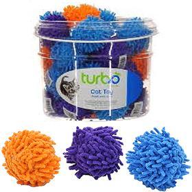 Coastal Turbo Mop Balls Cat Toy