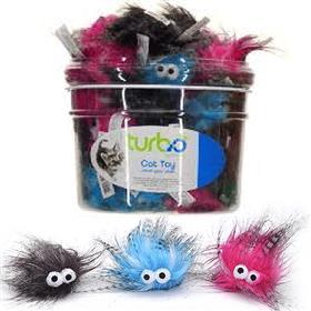 Coastal Turbo Plush Monsters Cat Toy