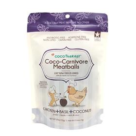 CocoTherapy Coco Carnivore Meatballs Chicken Basil Coconut