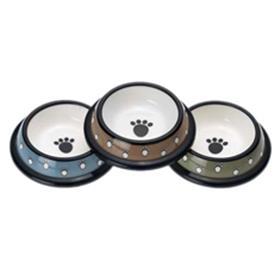 Crazy Paws Plastic Bowls