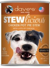 Daves Stewlicious Chicken Pot Pie Stew