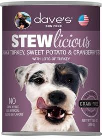 Daves Stewlicious Chunky Turkey and Sweet Potato and Cranberry Stew