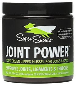 Diggin Your Dog Super Snouts Joint Power Green Lipped Mussel Dog Cat Supplement