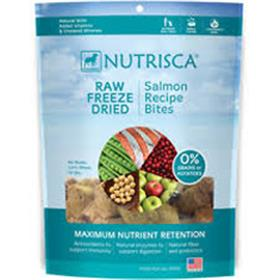 Dogswell Nutrisca Grain Free Raw Freeze Dried Salmon Recipe Bites