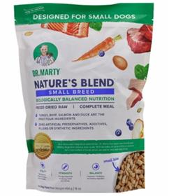Dr Marty Natures Blend Small Breed Freeze Dried Dog Food