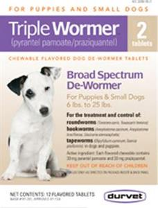 Durvet Triple Wormer Puppy and Small Dog