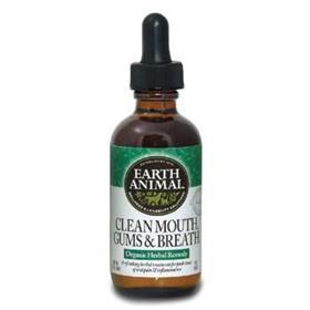 Earth Animal Clean Mouth Gums Breath Organic Herbal Remedy