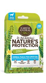 Earth Animal Natures Protection Flea and Tick Spot On for Dogs