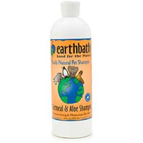 Earthbath Oatmeal and Aloe Totally Natural Pet Shampoo