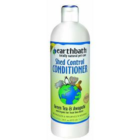 Earthbath Shed Control with Green Tea and Awapuhi Conditioner