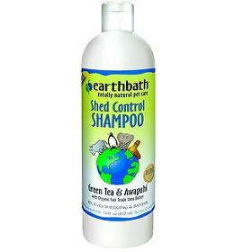 Earthbath Shed Control with Green Tea and Awapuhi Shampoo