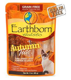 Earthborn Holistic Autumn Tide Tuna Dinner with Pumpkin in Gravy for Cats