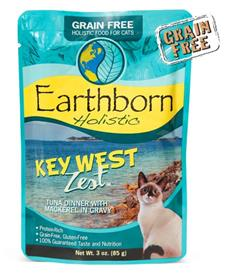 Earthborn Holistic Key West Zest Tuna Dinner with Mackerel in Gravy for Cats