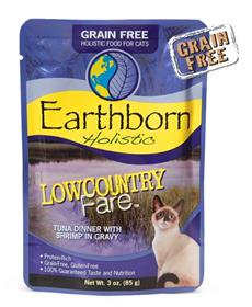 Earthborn Holistic Lowcountry Fare Tuna Dinner with Shrimp in Gravy for Cats
