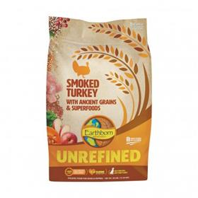 Earthborn Holistic Unrefined Smoked Turkey Ancient Grains Superfoods Dry Dog Food