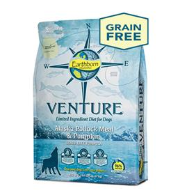 Earthborn Holistic Venture Alaska Pollock Meal and Pumpkin Limited Ingredient Diet