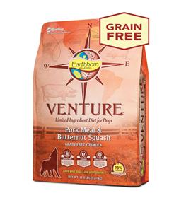 Earthborn Holistic Venture Pork Meal and Butternut Squash Limited Ingredient Diet