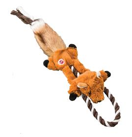 Ethical Pet Mini Skinneeez Tugs Fox Dog Toy