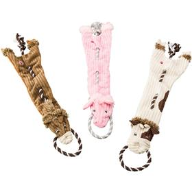 Ethical Pet Skinneeez Tugs Barnyard Dog Toys