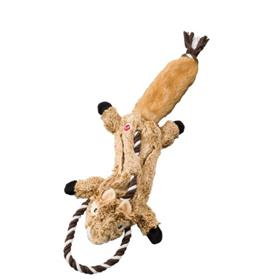 Ethical Pet Skinneeez Tugs Forest Chipmunk Dog Toy