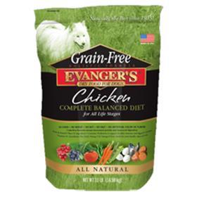 Evangers Grain Free Chicken Dry Dog Food