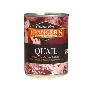 Evangers Grain Free Quail