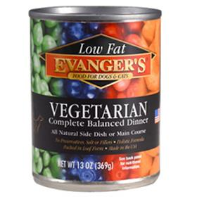 Evangers Low Fat Vegetarian Dinner Canned Dog and Cat Food