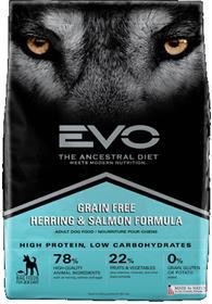 EVO Herring and Salmon Formula Adult Dog Food