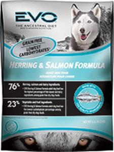 EVO Herring Salmon Formula Dry Dog Food