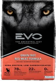 EVO Red Meat Formula Large Bites Dog Food
