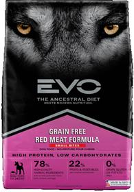 EVO Red Meat Small Bites Dog Food