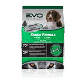EVO Turkey and Chicken Meal Senior Dry Dog Food
